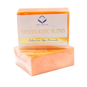 Relumins Advance White Spa Formula Papaya Kojic Blend Soap