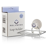 Relumins Stick-Up Soap Dish - Get Twice as Much Out of Your Soap Bars, No More Soggy Soap!