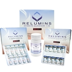 Authentic Relumins Advanced IV Glutathione 1100mg - Glutathione & Vitamin C PLUS Gluta Boosters- Whitens, repairs & rejuvenates skin