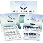 Relumins Advanced IV Glutathione 1400mg - Glutathione & Vitamin C - NO BOOSTER