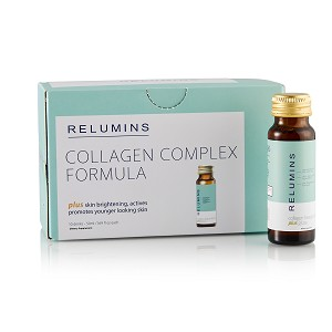 NEW! Relumins Beauty Collagen Drink-  Rejuvenates Skin, Hair and Nails, Anti- aging, Immune Boosting, Skin Brightening Formula - Apple Flavor