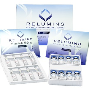 Relumins Advanced Glutathione 2000mg - Glutathione & Vitamin C - NO BOOSTER
