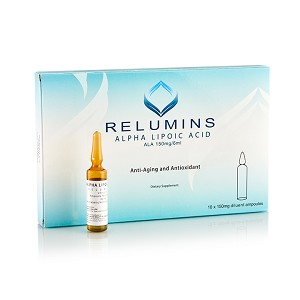 NEW! Relumins Alpha Lipoic Acid for Injection - 10 Ampoules- International sales only
